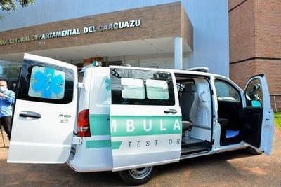 Alejo Ríos entregará ambulancia para el Hospital Distrital de Caaguazú – Prensa 5