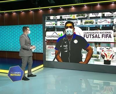 Chilavert y sus expectativas en el Nacional de futsal