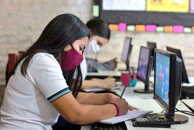 MEC recomendó a comunidades educativas comprometidas por COVID optar clases virtuales