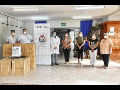 CONSEJO REGIONAL DE SALUD EN ITAPÚA, FUNDAMENTAL EN APORTES DESDE EL INICIO DE LA PANDEMIA