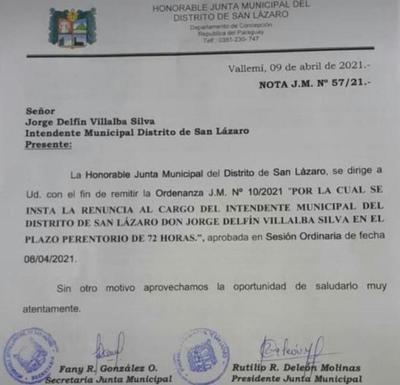 Concejales de San Lázaro maniobran para sacar del cargo a intendente