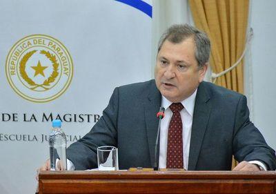 """Ministro de la CSJ, sobre posible extinción de causas judiciales: """"Yo no dije que ya se esté dando"""""""
