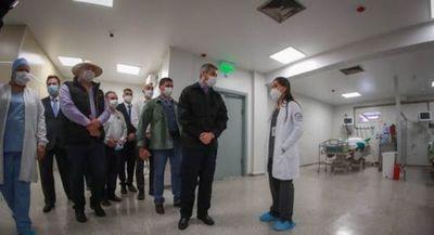 50 millones mensuales por paciente en UTI, para compra de remedios, menos para PJC