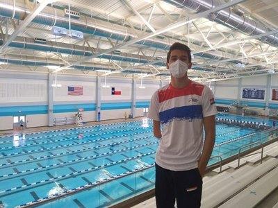 Rodrigo Hermosa, por la clasificación a los Juegos Paralímpicos de Tokio