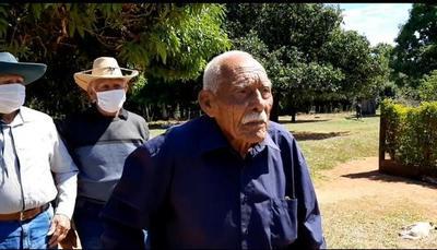 Abuelo Julio cumplió 102 años en San Pedro