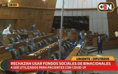 Diputados rechaza destinar fondos de binacionales a la salud
