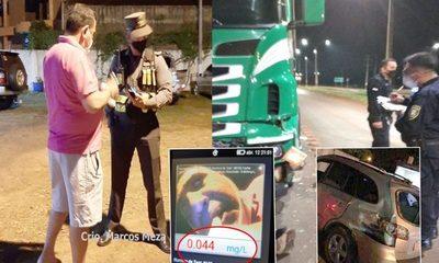 Comisario alcoholizado ocasiona violento accidente de tránsito sobre Ruta PY 07 – Diario TNPRESS