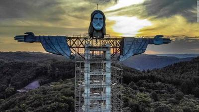 LA NUEVA ESTATUA DE JESÚS EN BRASIL SERÁ MÁS ALTA QUE EL CRISTO REDENTOR DE RÍO