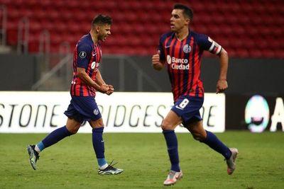Ángel Romero convirtió en el empate y eliminación de San Lorenzo