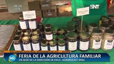 San Lorenzo: Feria de la agricultura familiar