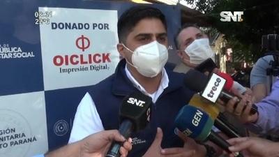Vergonzoso actuar de los encargados del vacunatorio de Pdte Franco