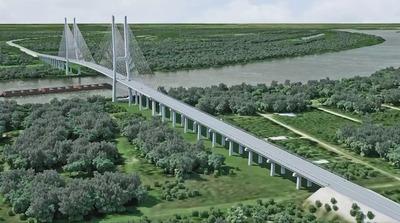 Priorizando la salud, suspenden construcción del puente Carmelo Peralta-Puerto Murtinho