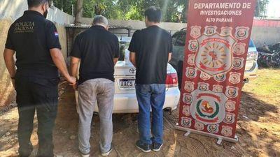 Un boliviano y un paraguayo caen con más de un kilo de crack en CDE