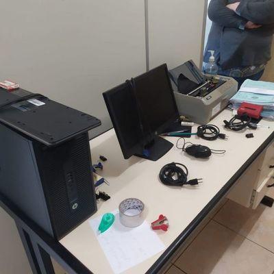 Desconocidos intentaron hurtar equipos informáticos del Juzgado de Paz