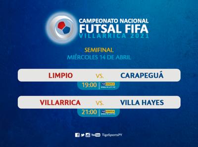 El Nacional de Futsal FIFA conocerá a sus finalistas