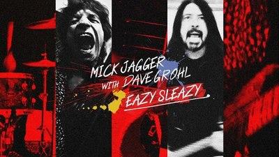 Lo nuevo de Mick Jagger con Dave Grohl