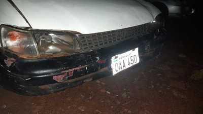 Borracho provoca accidente de tránsito en Ciudad del Este