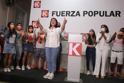 Perú: Con 99% de votos escrutados, confirman segunda vuelta entre Castillo y Fujimori