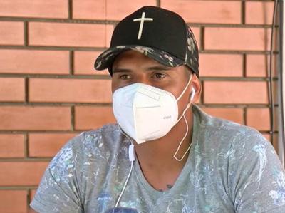 Sergio Villaverde, referente de la selección paraguaya de fútbol playa