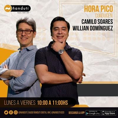 Hora Pico con Camilos Soares y Willian Dominguez