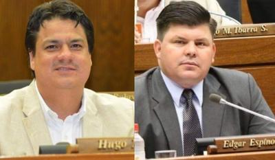 Diputados del departamento de Caaguazú que otra vez votaron en contra del pueblo