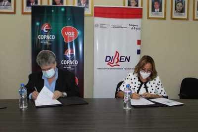 COPACO y la DIBEN facilitarán el proceso de consultas y trámites de 'Pytyvo Medicamentos'