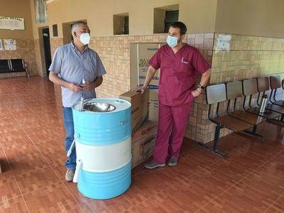 Municipalidad equipa vacunatorios de USF de Bertoni