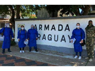 En Fuerte Olimpo rechazan vacuna     contra el Covid-19 para ancianos