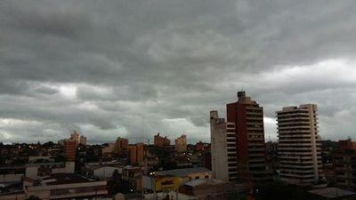 Anuncian precipitaciones con ocasionales tormentas eléctricas