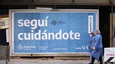 Toque de queda en Argentina