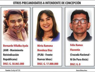 Son diez candidatos en Concepción que buscan la intendencia