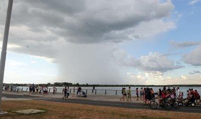Meteorología pronostica un ambiente caluroso e inestable para hoy