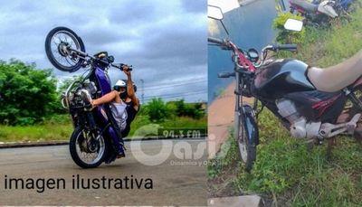 Policía Militar arresta joven realizando GRAU en una vía pública en Ponta Porã