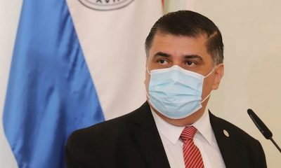 Ministro de Salud dio positivo al Covid-19