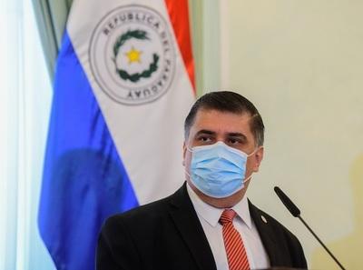 Ministro de Salud dio positivo a Covid-19