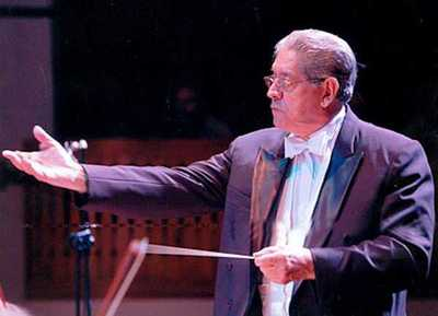 OSN brindará un tributo a su legendario director, maestro Florentín Giménez