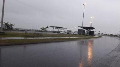 Emiten alerta por tormentas para tres departamentos este jueves