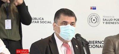 Ministro de Salud Julio Borba da positivo a la covid-19