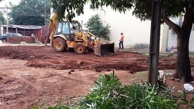 Inician obras para nuevo pabellón de contingencia covid-19 en Hospital Regional de PJC