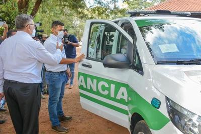 Entregan ambulancia 0 km al Hospital de Caaguazú – Prensa 5