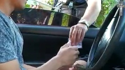 HABRÍAN DENUNCIADO COIMA DE PARTE DE UN AGENTE DE TRÁNSITO