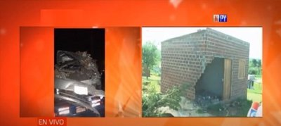 Presunto ebrio al volante derribó parte de una casa