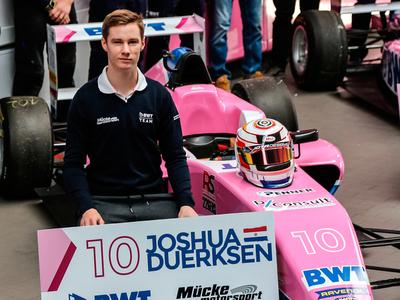 Duerksen empieza a calentar el motor para la temporada 2021 de la Fórmula 4