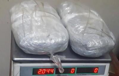 Agentes penitenciarios hallaron más dos kilos de marihuana en el muro de la UPIE