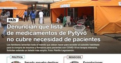 La Nación / LN PM: Las noticias más relevantes de la siesta del 15 de abril