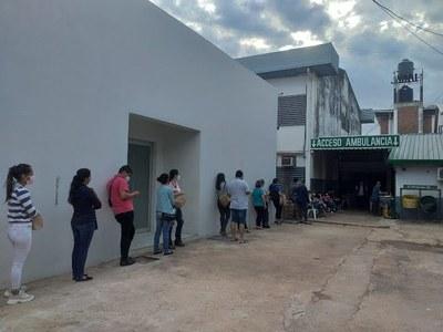 PROFESIONALES DE SALUD INDEPENDIENTES FUERON VACUNADOS CONTRA EL COVID-19