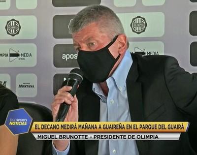 Miguel Brunotte palpita el estreno en la Libertadores