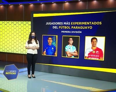 Grandes figuras entre los más experimentados del fútbol paraguayo