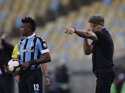 Gremio anuncia la salida del técnico Renato Gaúcho