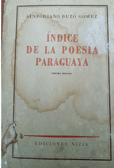 La poesía paraguaya de Sinforiano Buzó